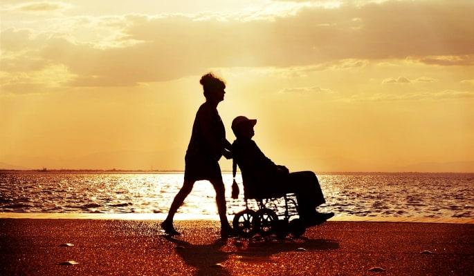 Las úlceras en los pacientes de sillas de ruedas