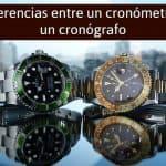 Diferencias entre un cronómetro y un cronógrafo