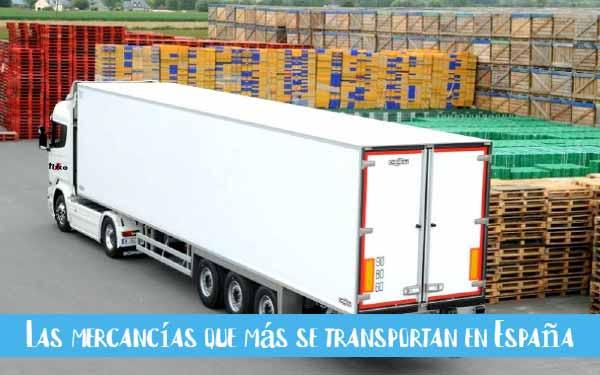 mercancias que se transportan mas espana